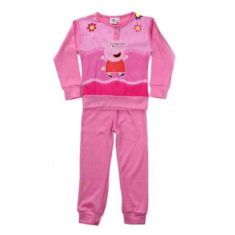 87b08a8e35d Ensemble pyjama haut + bas Fille - Peppa Pig