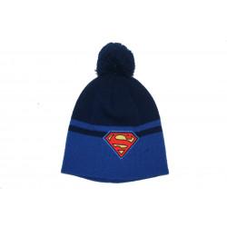 Bonnet pompon Superman