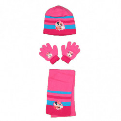 Ensemble bonnet + gants +...