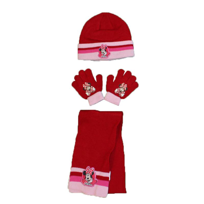 Gants Minnie Ensemble Bonnet /écharpe Fille