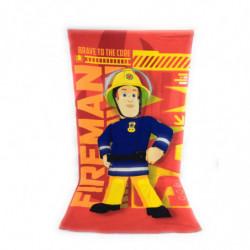 Serviette de plage en microfibre Sam le Pompier