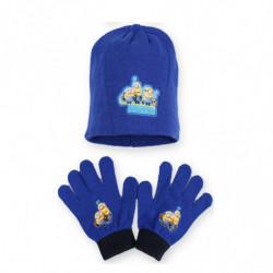 Ensemble bonnet + gants...